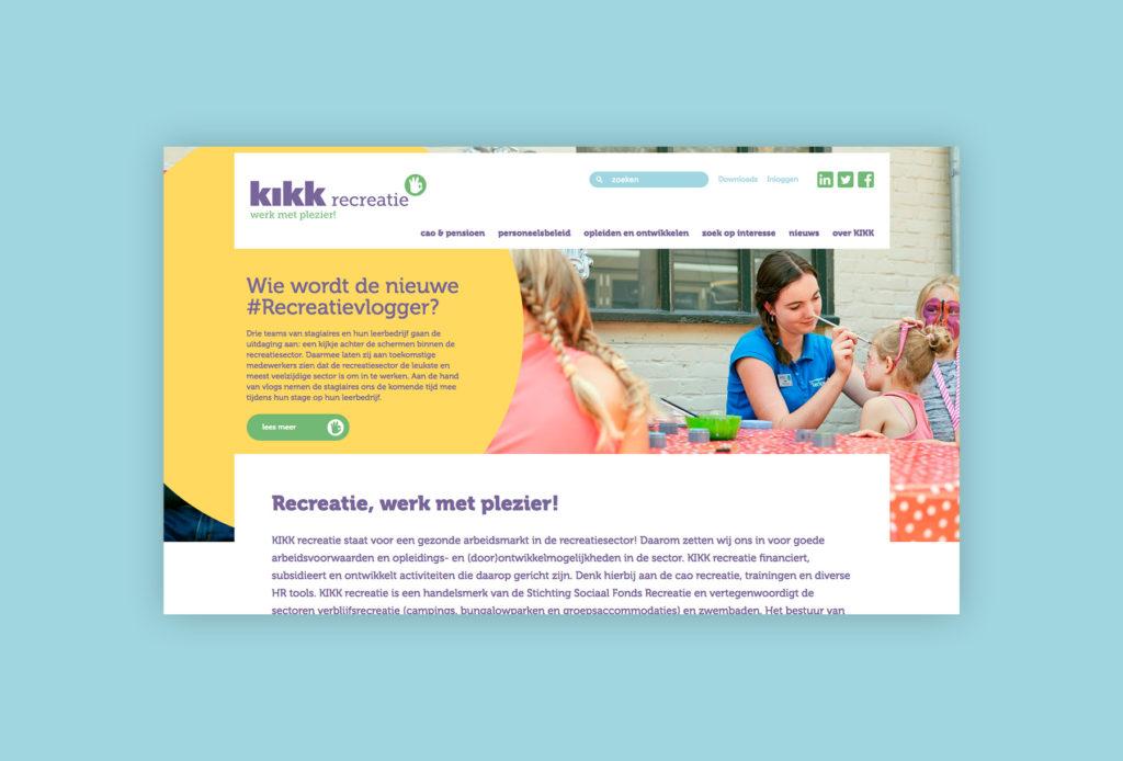 KIKK homepage 3