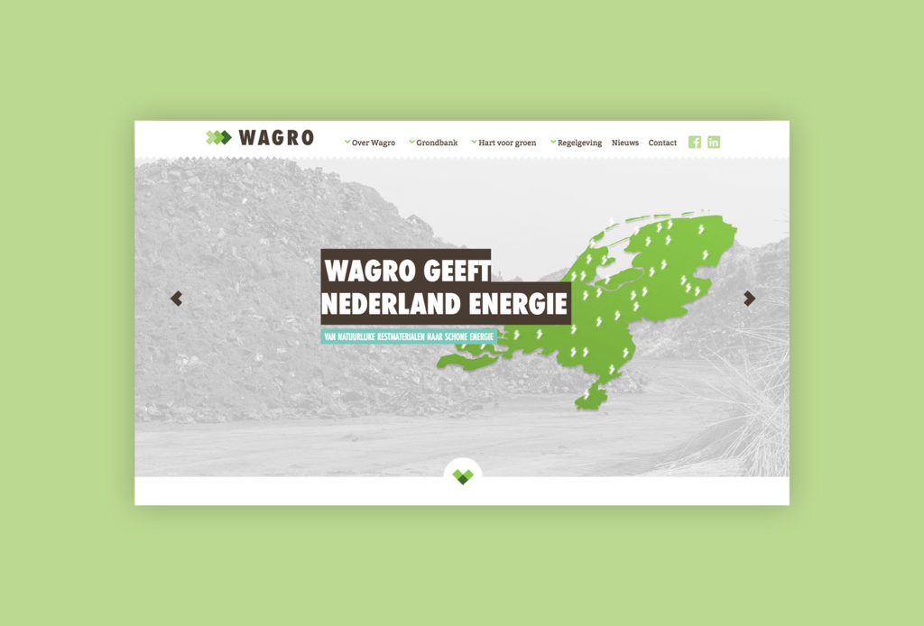 Wagro homepage homepagina 2